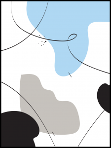 Plakat abstraction no7