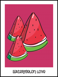 Plakat watermelon