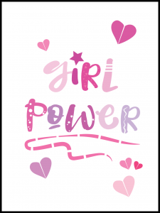 Plakat girl power