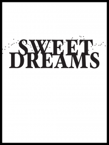 Plakat sweet dreams