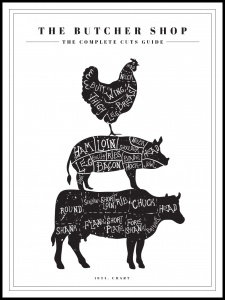 Poster the butchers guide 11