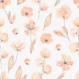 Tapeta aquarelle flowers