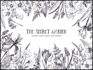 Plakat the secret garden