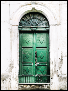 Plakat green door
